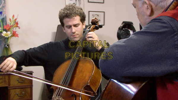 Talent Has Hunger (2015) <br /> Nick Canellaskis is taught by  Paul Katz at the New England Conservatory of Music<br /> *Filmstill - Editorial Use Only*<br /> CAP/KFS<br /> Image supplied by Capital Pictures