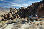 Driving the back roads through the Alabama Hills
