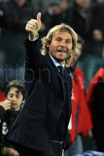 02.04.2016. Juventus Stadium, Turin, Italy. Serie A Football. Juventus versus Empoli. Pavel Nedved