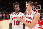 2105-16 NCAA Basketball: Indiana at Wisconsin