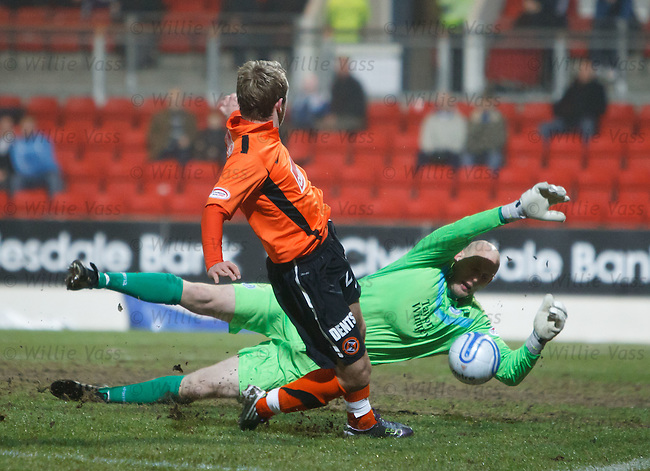 Peter Enckleman saves from Johnny Russell
