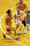 Catalunya vs Montenegro: 83-57.<br /> Queralt Casas vs Jovana Pasic.