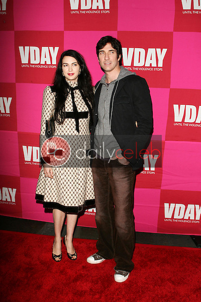 """Shiva Rose McDermott and Dylan McDermott<br />at the opening night of Eve Ensler's """"The Good Body"""" to Benefit VDAY. Wadsworth Theatre, Brentwood, CA. 02-01-06<br />Scott Kirkland/DailyCeleb.Com 818-249-4998"""