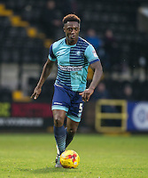 Anthony Stewart of Wycombe Wanderers during the Sky Bet League 2 match between Notts County and Wycombe Wanderers at Meadow Lane, Nottingham, England on 10 December 2016. Photo by Andy Rowland.