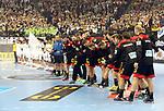 10.01.2019, Mercedes Benz Arena, Berlin, GER, Handball WM 2019, Deutschland vs. Korea, im Bild <br /> Deutsche Mannschaft,<br /> <br />      <br /> Foto © nordphoto / Engler