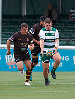 Alun Walker of Ealing Trailfinders during the RFU Championship Cup match between Ealing Trailfinders and Ampthill RUFC at Castle Bar , West Ealing , England  on 28 September 2019. Photo by Alan  Stanford / PRiME Media Images