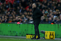 Southampton caretaker manager Kelvin Davis during Tottenham Hotspur vs Southampton, Premier League Football at Wembley Stadium on 5th December 2018