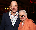 Taylor Mac and Paula Vogel attends the 2017 New York Drama Critics' Circle Awards Reception at Feinstein's / 54 Below on 5/18/2017 in New York City.