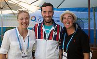Ambience Mikhail Kukushkin (RUS)<br /> <br /> Tennis - Brisbane International 2015 - ATP 250 - WTA -  Queensland Tennis Centre - Brisbane - Queensland - Australia  - 6 January 2015. <br /> &copy; Tennis Photo Network