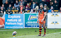 Picture by Allan McKenzie/SWpix.com - 11/03/2018 - Rugby League - Betfred Super League - Castleford Tigers v Salford Red Devils - the Mend A Hose Jungle, Castleford, England - Luke Gale.