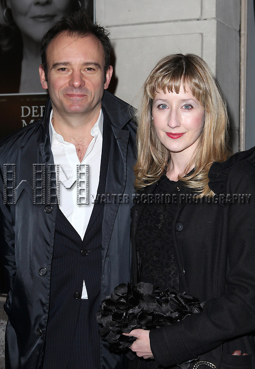 Matthew Warchus, Lauren Ward attending the Broadway Opening Night Performance of 'Cat On A Hot Tin Roof' at the Richard Rodgers Theatre in New York City on 1/17/2013
