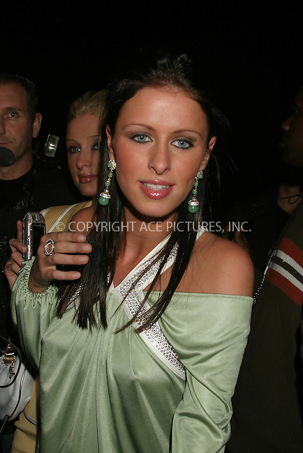 WWW.ACEPIXS.COM . . . . . ....NEW YORK, FEBRUARY 6, 2005 ....Nicky Hilton at the Luca Luca tent show. ....Please byline: ACE009 - ACE PICTURES.. . . . . . ..Ace Pictures, Inc:  ..Philip Vaughan (646) 769-0430..e-mail: info@acepixs.com..web: http://www.acepixs.com
