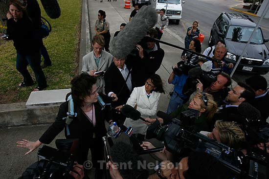 San Angelo - a 14-day hearing at the 51st District (Tom Green County) Courthouse to decide the fate of 416 children removed in a raid from the FLDS Church's YFZ Ranch. Thursday April 17, 2008.  Susan Hays
