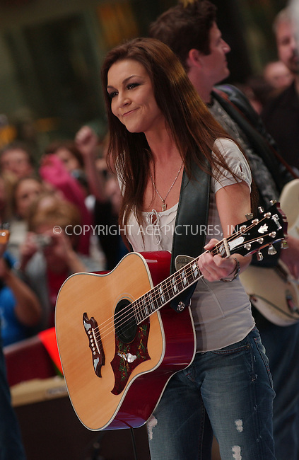 WWW.ACEPIXS.COM . . . . .....May 11, 2007. New York City.....Singer Gretchen Wilson performs on 'The Today Show' 2007 Summer Concert Series at Rockefeller Plaza...  ....Please byline: Kristin Callahan - ACEPIXS.COM..... *** ***..Ace Pictures, Inc:  ..Philip Vaughan (646) 769 0430..e-mail: info@acepixs.com..web: http://www.acepixs.com