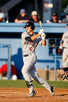 July 27, 2009:  First Baseman Jason Smit of the Mahoning Valley Scrappers during a game at Dwyer Stadium in Batavia, NY.  Mahoning Valley is the NY-Penn League Short-Season Class-A affiliate of the Cleveland Indians.  Photo By Mike Janes/Four Seam Images