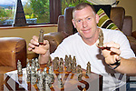 CHECKMATE: Dominick Cleary from Lixnaw who is behind plans for a new Chess Club in north Kerry.