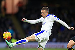 Leicester City's Jamie Vardy fires a shot wide<br /> <br /> - English Premier League - Watford vs Leicester City  - Vicarage Road - London - England - 5th March 2016 - Pic David Klein/Sportimage