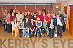 Ben Hayes, Coom Lower, Gneeveguilla, pictured with his wife Margaret, family and friends as he celebrated his retirement from Kerry County Council, after 36 years, in Darby O'Gills Hotel, Killarney on Friday night...................