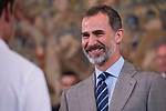 King Felipe VI of Spain  attends to several audiences at Zarzuela Palace in Madrid, July 05, 2017. Spain.<br /> (ALTERPHOTOS/BorjaB.Hojas)