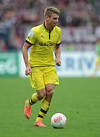 FUSSBALL   1. BUNDESLIGA  SAISON 2012/2013   2. Spieltag 1. FC Nuernberg - Borussia Dortmund       01.09.2012 Lukasz Piszczek (Borussia Dortmund)