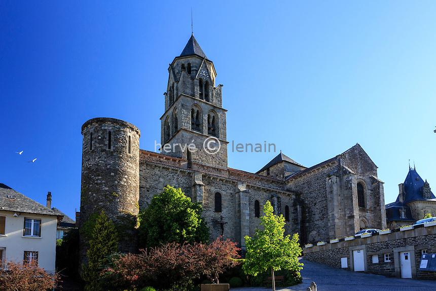 France, Corrèze (19), Uzerche, église Saint-Pierre // France, Correze, Uzerche, Saint Pierre church
