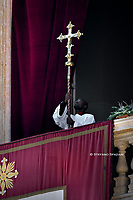 Pope Francis Urbi et Orbi Christmas Day of St. Peter's Basilica in Vatican ,25th December 2019