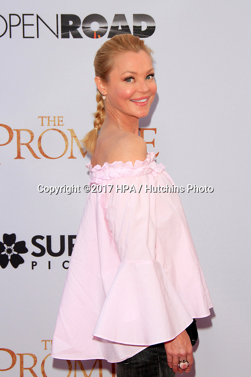 """LOS ANGELES - APR 12:  Charlotte Ross at the """"The Promise"""" Premiere at the TCL Chinese Theater IMAX on April 12, 2017 in Los Angeles, CA"""