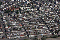 Aerial view of Sandfields Swansea