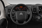 Car pictures of steering wheel view of a 2019 Citroen Jumper - 4 Door Chassis Cab Steering Wheel