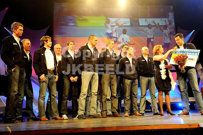 groninger sportgala 2008 martiniplaza 15-12-2008.lycurgus sportploeg van het jaar.fotograaf jan kanning