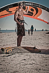 Kiteboard Athlete Lifestyle Portrait Photograph.