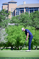 Dominic Bozzelli (USA) watches his putt on 10 during round 4 of the Valero Texas Open, AT&amp;T Oaks Course, TPC San Antonio, San Antonio, Texas, USA. 4/23/2017.<br /> Picture: Golffile | Ken Murray<br /> <br /> <br /> All photo usage must carry mandatory copyright credit (&copy; Golffile | Ken Murray)