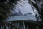 Cruise Ships in Dock St. Maarten