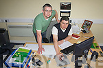 Farm Supplement 26th April, Farm Management Grants, place pic beside their ad ..CAPTION.Donagh Crowley and Sean Crowley of Crowley Consultants finalising farm waste management applications and planning permissions at their office in Market Place, Killorglin...