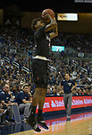 San Diego State guard Jeremy Hemsley (42) shoots against Nevada in the second half of an NCAA college basketball game in Reno, Nev., Saturday, March 9, 2019. (AP Photo/Tom R. Smedes)