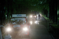 it was hard to find the riders sometimes in the dark woods during the rainstorms<br /> <br /> stage 3: Buchten - Buchten (NLD/210km)<br /> 30th Ster ZLM Toer 2016