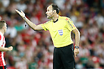 Spanish referee Mateu Lahoz during La Liga match. August 28,2016. (ALTERPHOTOS/Acero)