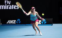 BELINDA BENCIC (SUI)<br /> TENNIS , AUSTRALIAN OPEN,  MELBOURNE PARK, MELBOURNE, VICTORIA, AUSTRALIA, GRAND SLAM, HARD COURT, OUTDOOR, ITF, ATP, WTA<br /> <br /> &copy; TENNIS PHOTO NETWORK