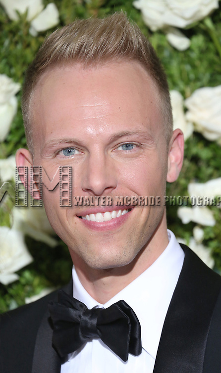 Justin Paul attends the 71st Annual Tony Awards at Radio City Music Hall on June 11, 2017 in New York City.