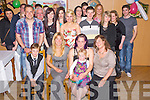 Amy Burton, Barradubh, Killarney, pictured with family and friends as she celebrated her 21st birthday in Darby O'Gills hotel, Killarney on Friday night.