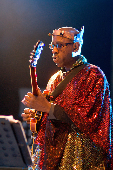 Sun Ra Arkestra performing live at All Tomorrow's Parties at Butlins in Minehead. 4th to 6th December 2009.