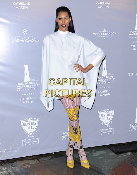 Jessica White attends The Rodeo Drive Walk of Style honoring Oscar-winner Catherine Martin held at The Greystone Mansion in Beverly Hills, California on February 28,2014                                                                                <br /> CAP/DVS<br /> &copy;Debbie VanStory/Capital Pictures