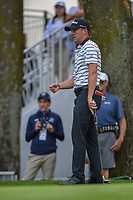 Justin Thomas (USA) reacts to barely missing his birdie putt on 16 during round 2 of the World Golf Championships, Mexico, Club De Golf Chapultepec, Mexico City, Mexico. 2/22/2019.<br /> Picture: Golffile | Ken Murray<br /> <br /> <br /> All photo usage must carry mandatory copyright credit (&copy; Golffile | Ken Murray)