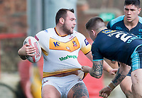 Picture by Allan McKenzie/SWpix.com - 25/03/2018 - Rugby League - Betfred Championship - Batley Bulldogs v Featherstone Rovers - Heritage Road, Batley, England - Jason Crookes.