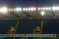 The back rows in Blocks 17,18 and 19 in The Dockers Stand will remain closed after reports of racist chanting at the recent Everton cup-tie during Millwall vs Sheffield Wednesday, Sky Bet EFL Championship Football at The Den on 12th February 2019
