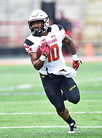 College Park, MD - APR 22, 2016: Maryland Terrapins wide receiver DJ Turner (10) in open space during the 2017 Spring game at Capital One Field at Maryland Stadium in College Park, MD. (Photo by Phil Peters/Media Images International)