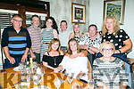 Howard family Gathering from Leith East at Bella bias on Saturday Front l-r Majella Horgan, Janice Preston, Helen Gaye, Back l-r Bart Howard, Billy Horgan, Ellie Horgan, Michael Sidwell, Noreen O'Donald, Margaret O'Grady, Dorothy Gore