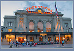 The newly renovated Union Station anchors one end of the 16th Street Mall.<br />