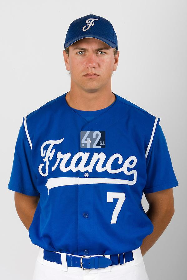 15 Aug 2007: Philippe Lecourieux - Team France Baseball