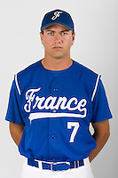 15 Aug 2007: Philippe Lecourieux - Team France Baseball